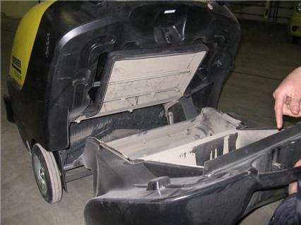 подметальная машина karcher km 85/50 w bp pack подметальные машины Karcher