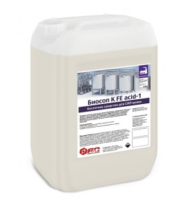 кислотное средство для сип-мойки биосоп к fe acid-1 удаление минеральных и биологических загрязнений АиС (Аксамид)