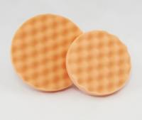 Полировальный круг антиголограммный Koch Chemie AntiHologrammSchwamm Orange, 160х30 мм