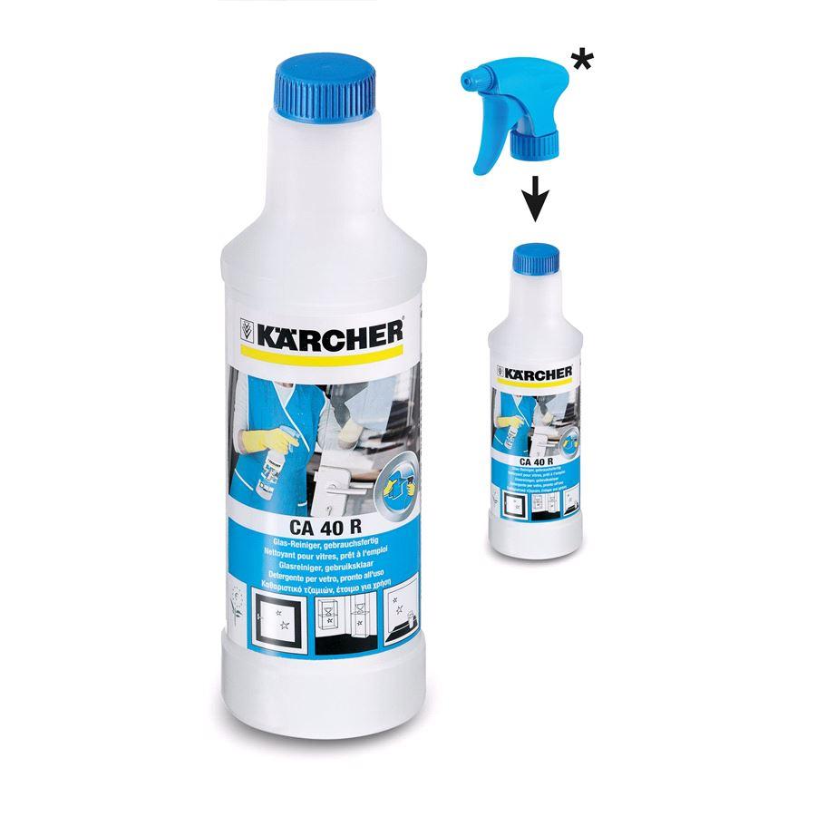 Cредство для чистки стекол Karcher CA 40 R, 0.5л
