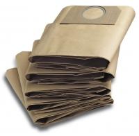 Фильтр-мешки для пылесосов Karcher WD SE MV 3.200, 3.300, 3.500, SE 4001, 4002, MV 3 P, MV 3 Premium