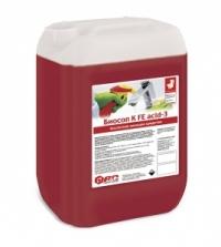 Средство для ежедневной уборки санузлов (концентрат) Биосоп К FE acid-3