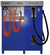 Пылесос самообслуживания + подкачка шин + вода ППШ-4-М