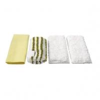 Комплект микроволоконных салфеток для ванной парочистителей Karcher