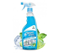 Очиститель стекол Clean Glass блеск стекол и зеркал (голубая лагуна) 600 мл