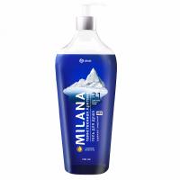 Milana MEN гель для душа таинственная арктика с маслом эвкалипта 750мл