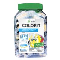 Таблетки для посудомоечных машин Colorit 5 в 1 (35шт)