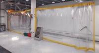 Шторы для автомойки из ПВХ прозрачная